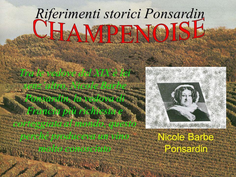 Tra le vedove del XIX è lei senzaltro, Nicole Barbe Ponsardin, la vedova di Francia più richiesta e corteggiata al mondo, questo perché produceva un v