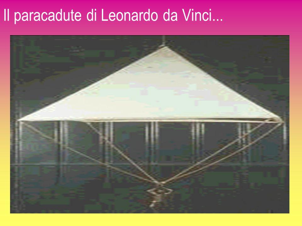 Il paracadute di Leonardo da Vinci...