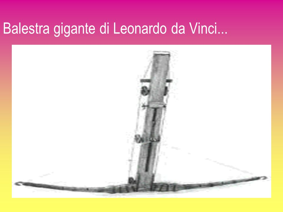 Balestra gigante di Leonardo da Vinci... 6