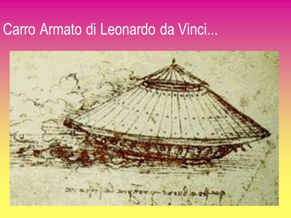 Carro Armato di Leonardo da Vinci...