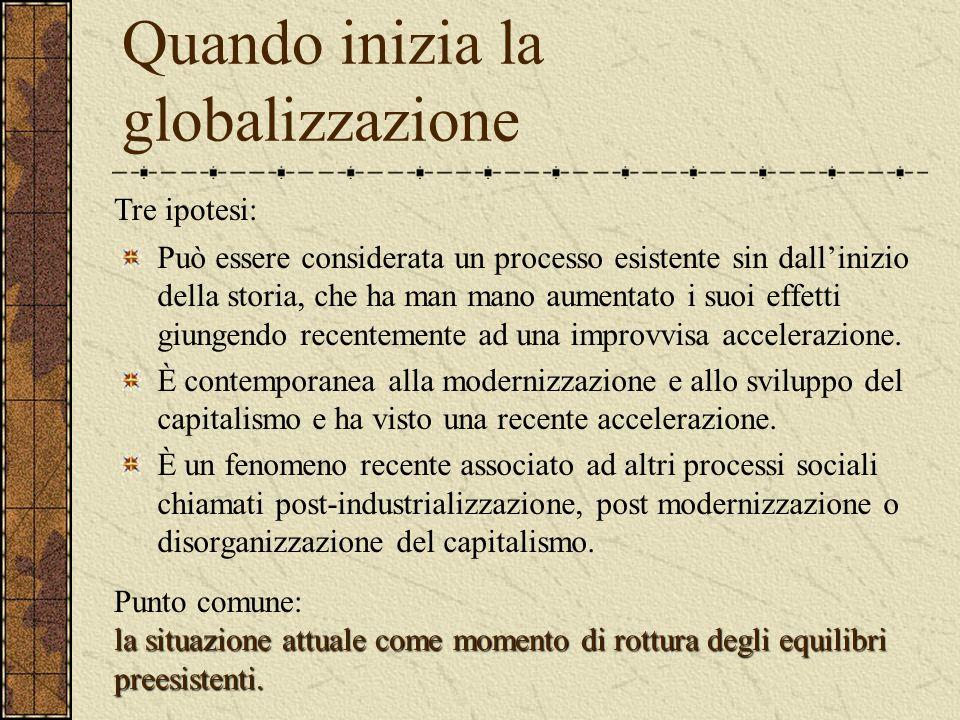 Globalizzazione e democrazia Cultura di Davos Indvidualismo Economia di mercato Democrazia politica Problema della democrazia e movimento no global. L