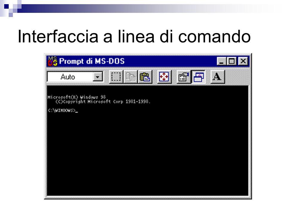 Informazioni riguardo ai file Un file è identificato in Windows da un nome e da una icona.