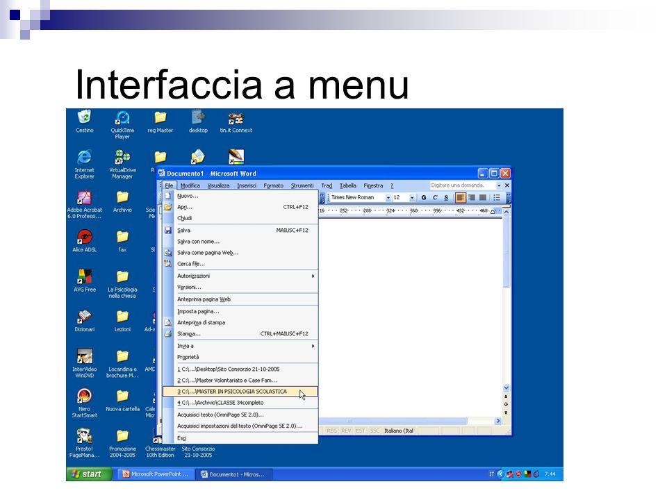 Finestra di dialogo di Windows Directory dove è localizzata la risorsa Crea nuova cartella Visualizza dettagli file File trovati Nome file Tipo di file Comandi di esecuzione Gli elementi indicati sono costanti per tutte le finestre Apri/Salva con nome che incontrerete in windows