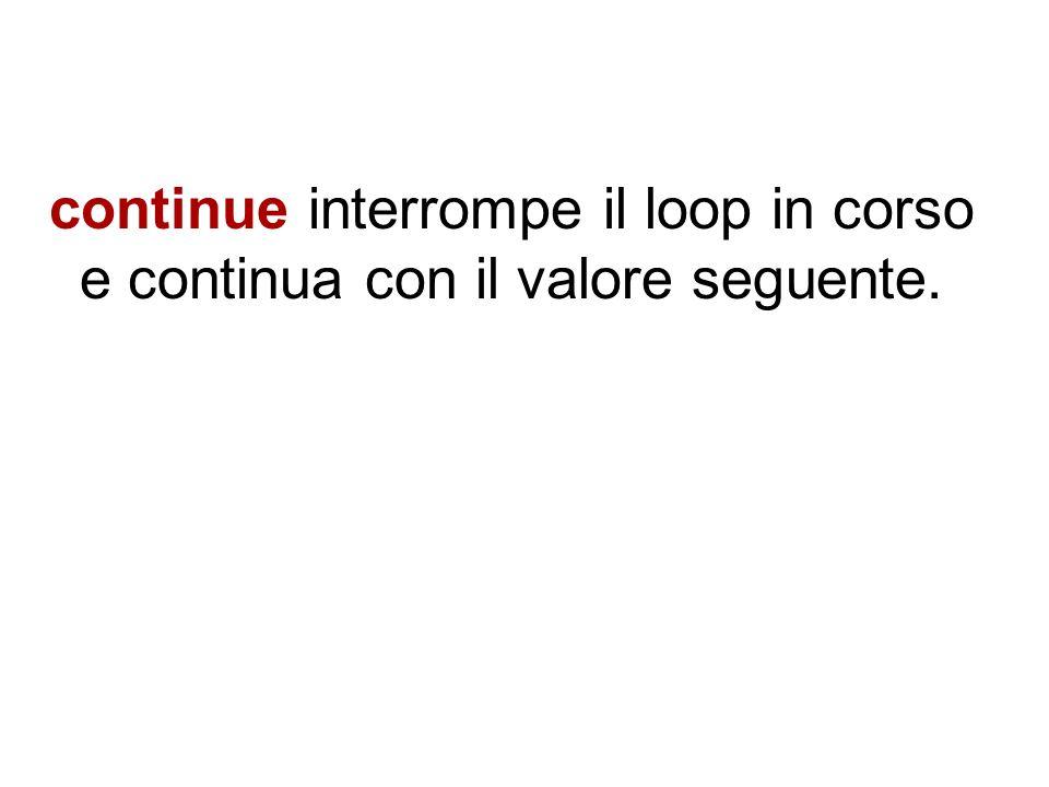 Per esempio si potrebbe avere un loop in grado di dividere un certo valore per un fattore di numeri compresi tra -50 e +50.