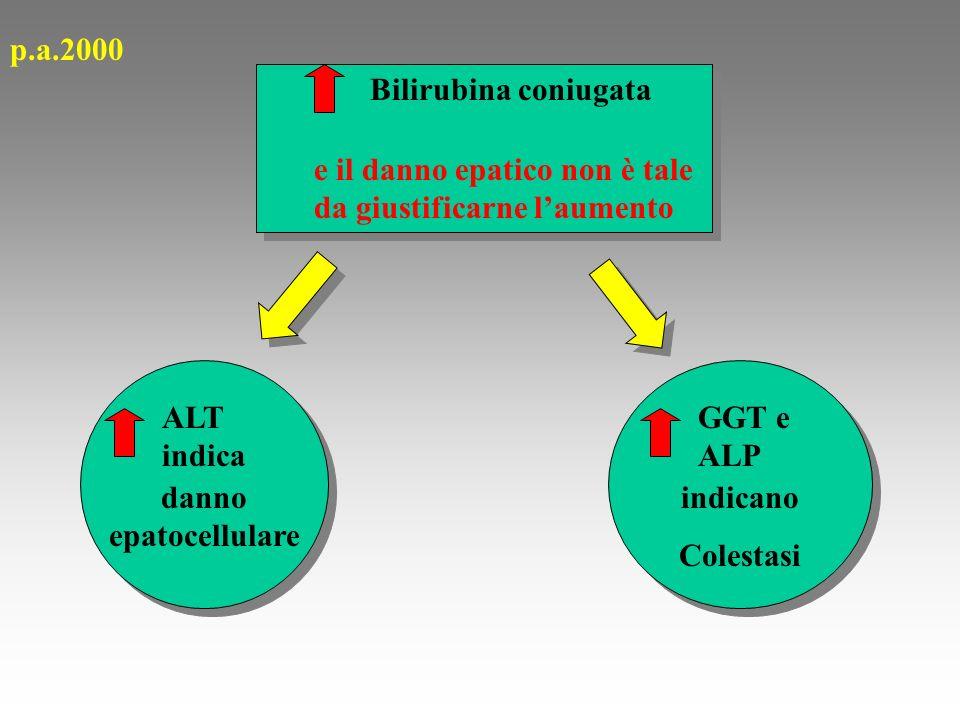 CICLO DELLA BILIRUBINA EMOGLOBINA EME BILIRUBINA BILIRUBINA NON CONIUGATA BILIRUBINA CONIUGATA UROBILINOGENO UROBILINASTERCOBILINA Escrezione fecale Sistema macrofagico FEGATO BILE E INTESTINO GROSSO INTESTINO BATTERI RENE