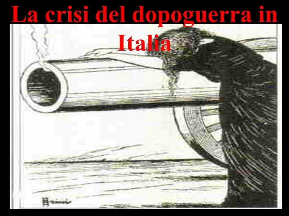 Dannunzio e ufficiali italiani a Fiume La questione fiumana durò per circa un anno Venne risolta da Giolitti nel 1920 con il trattato di Rapallo