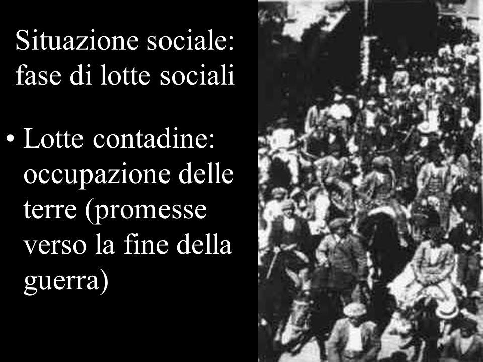 Risultati delle lotte Ma loccupazione delle fabbriche fece temere una rivoluzione socialista.