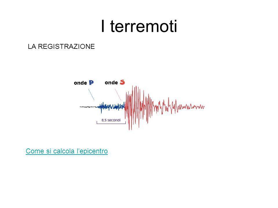 I terremoti I SISMOGRAFI I sismografi sono il principale strumento degli scienziati che studiano i terremoti.