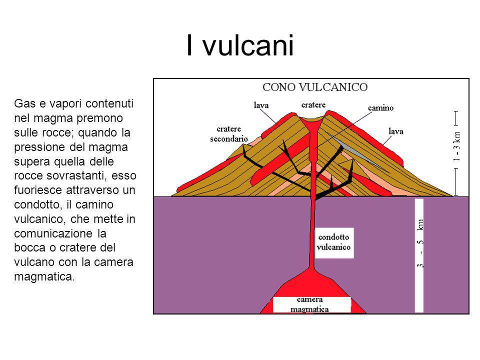 I vulcani STILECARATTERISTICHEEDIFICIOESEMPI STROMBOLIANO Eruzioni esplosive di modesta entità.