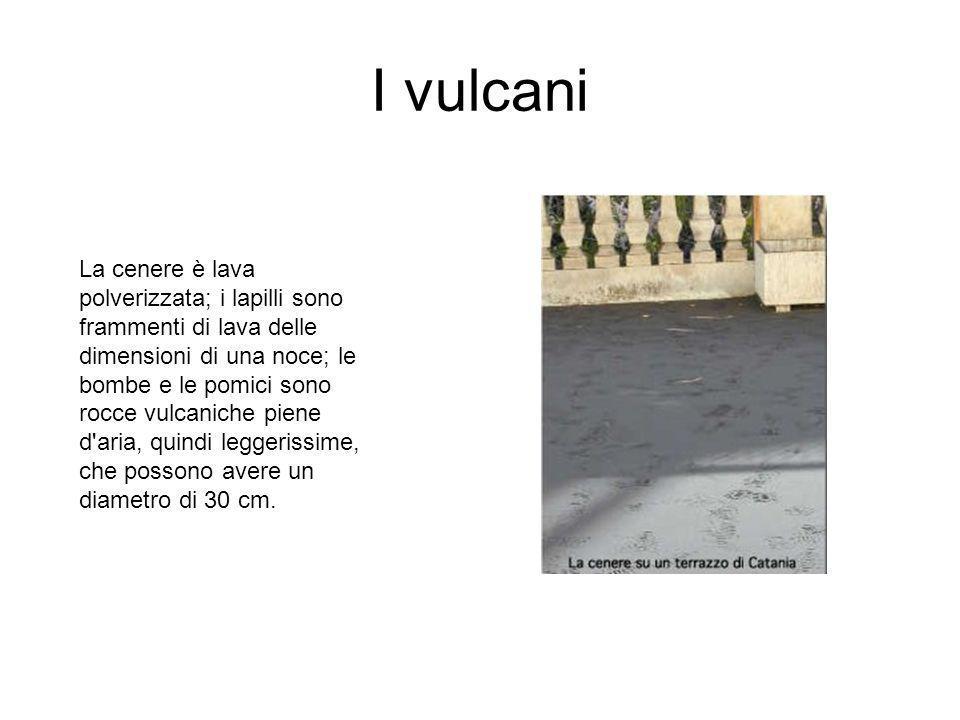 I vulcani DISTRIBUZIONE DEI VULCANI ATTIVI NEL MONDO