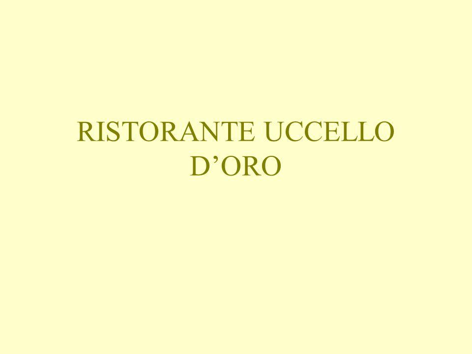 RISTORANTE UCCELLO DORO
