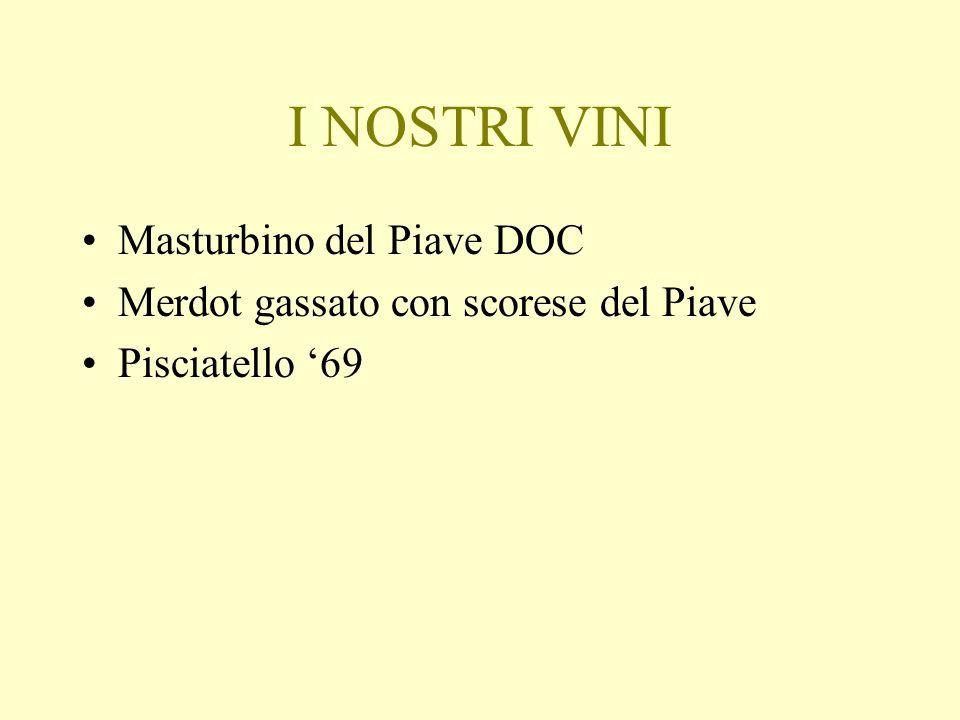 I NOSTRI VINI Masturbino del Piave DOC Merdot gassato con scorese del Piave Pisciatello 69