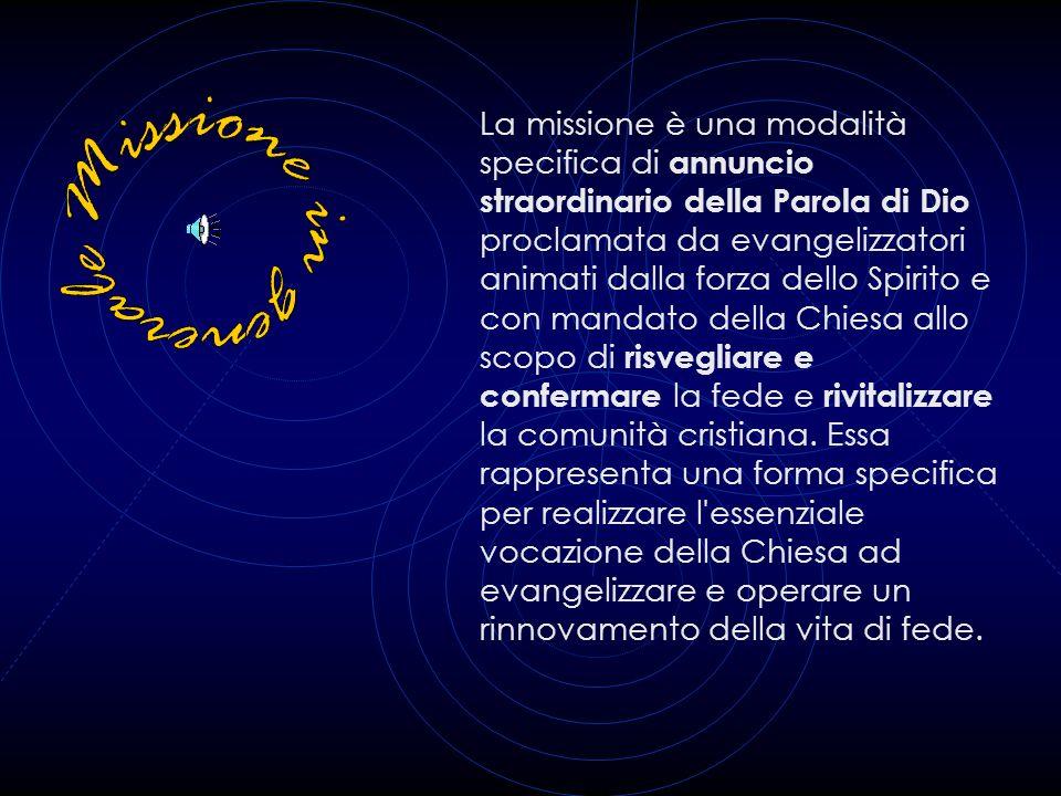 I fedeli laici, proprio perché membri della Chiesa, hanno la vocazione, la missione di essere annunciatori del Vangelo. Cristifideles laici, 33