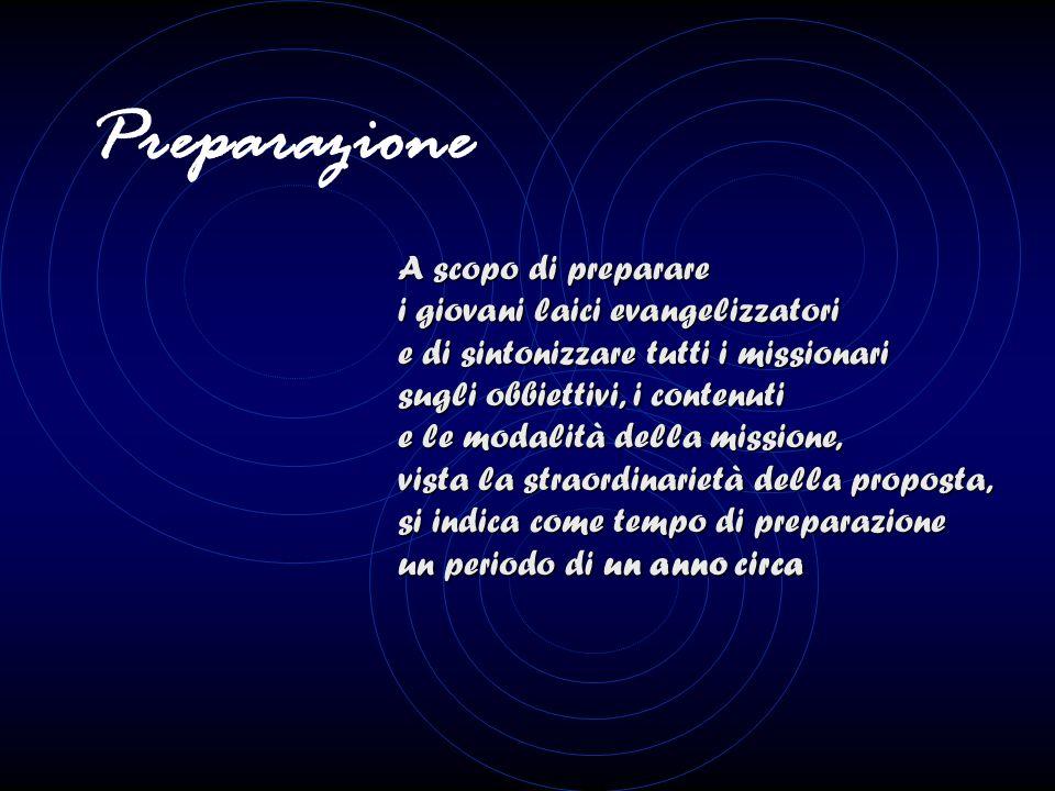 Le principali caratteristiche: L'annuncio Kerigmatico della persona di Gesù Cristo e della sua salvezza offerta a ciascuno, in un contesto di incontro