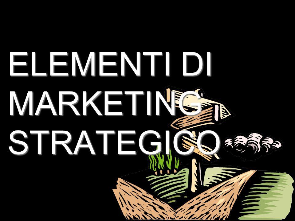 2 ELEMENTI DI MARKETING STRATEGICO