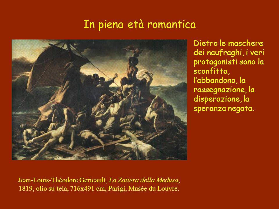 Il repertorio iconografico classico è messo al servizio di una dialettica romantica.