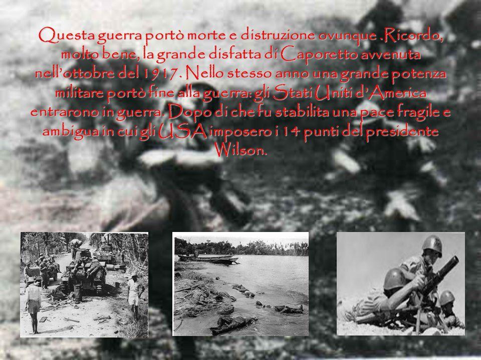 …Come ben sappiamo, il 28 giugno 1914 lArciduca Ferdinando dAsburgo e la moglie furono uccisi in un attentato a Sarajevo. Questa fu la goccia che fece