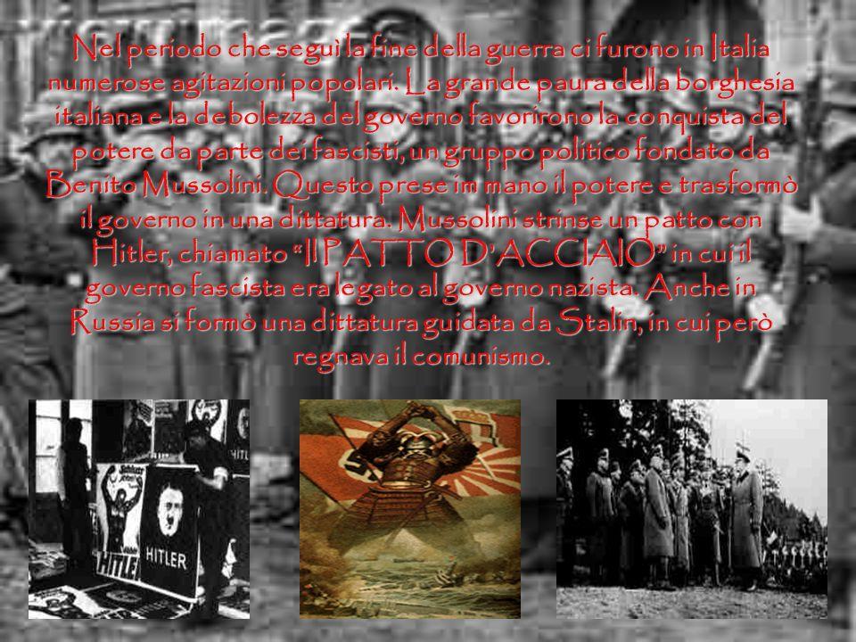 Questa guerra portò morte e distruzione ovunque.Ricordo, molto bene, la grande disfatta di Caporetto avvenuta nellottobre del 1917. Nello stesso anno