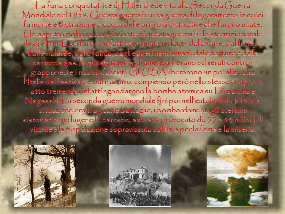 Nel periodo che seguì la fine della guerra ci furono in Italia numerose agitazioni popolari. La grande paura della borghesia italiana e la debolezza d