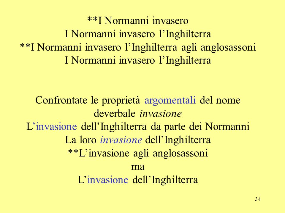 34 **I Normanni invasero I Normanni invasero lInghilterra **I Normanni invasero lInghilterra agli anglosassoni I Normanni invasero lInghilterra Confro