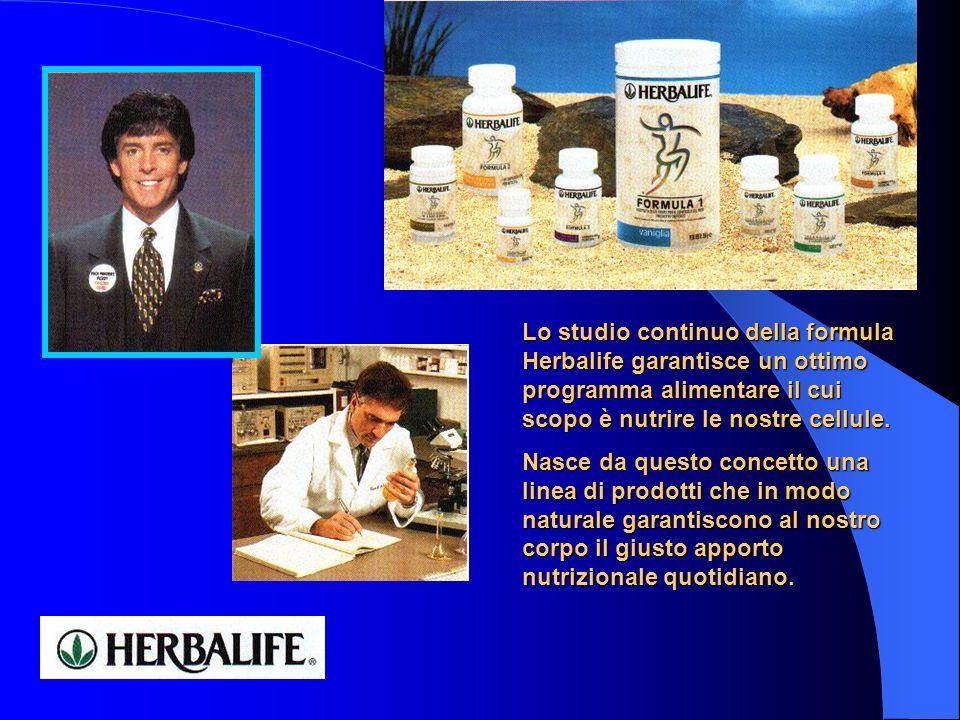Lo studio continuo della formula Herbalife garantisce un ottimo programma alimentare il cui scopo è nutrire le nostre cellule. Nasce da questo concett