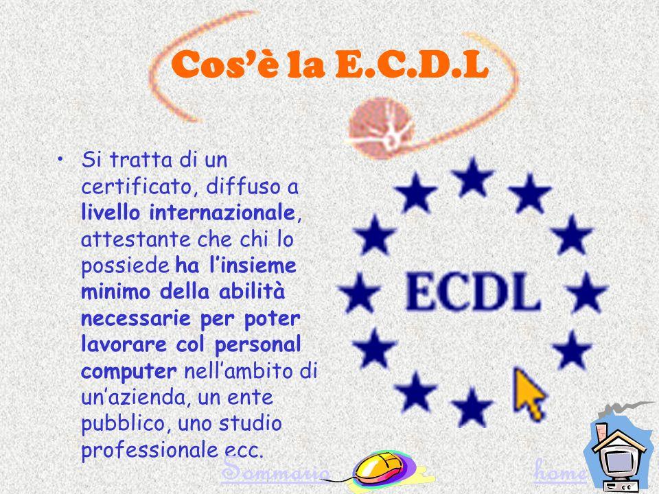 Cosè lE.C.D.L Come si ottiene la Patente Quanti esami.