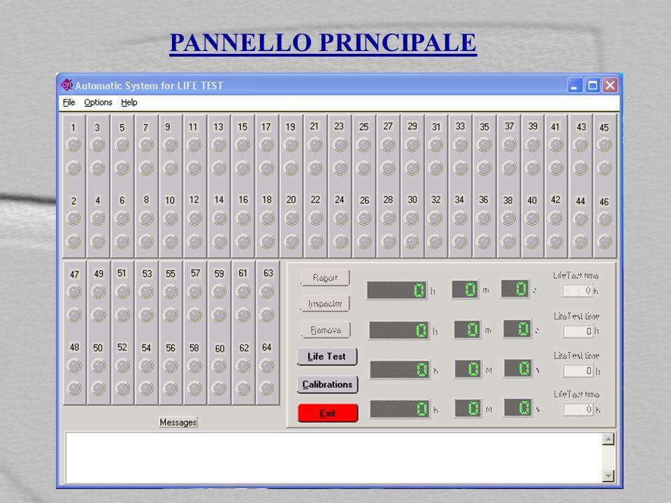 PANNELLO PRINCIPALE