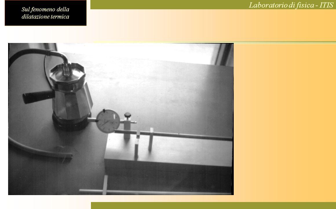 Sul fenomeno della dilatazione termica Laboratorio di fisica - ITIS