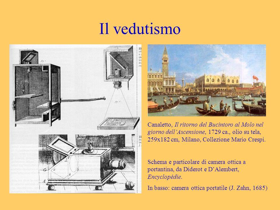 Il vedutismo Canaletto, Il ritorno del Bucintoro al Molo nel giorno dellAscensione, 1729 ca., olio su tela, 259x182 cm, Milano, Collezione Mario Cresp