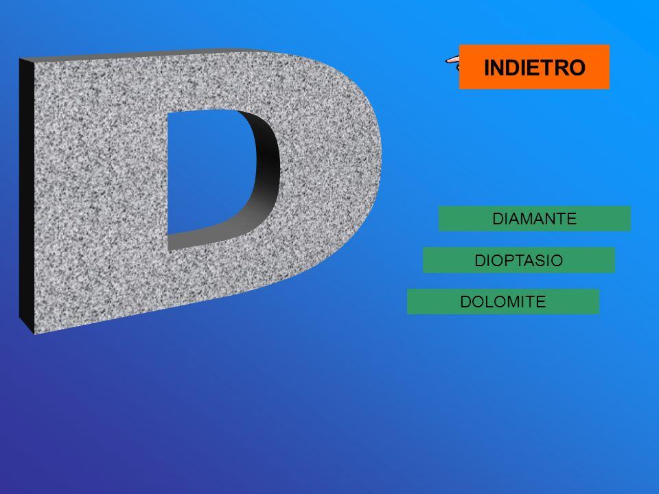 DIAMANTE DOLOMITE DIOPTASIO INDIETRO