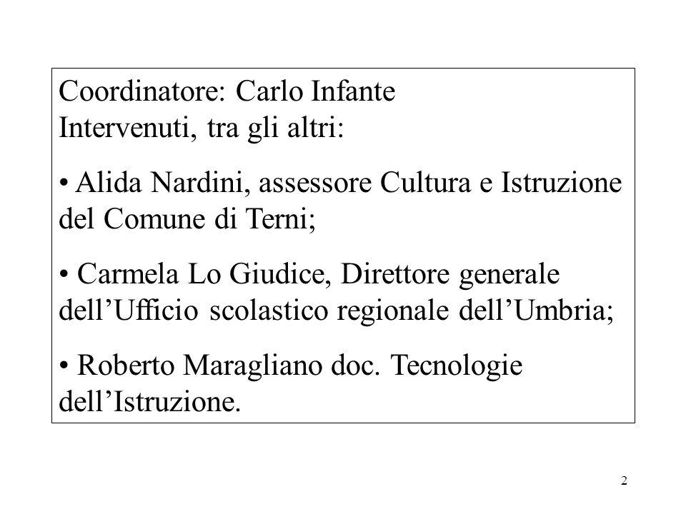 23 Antonino Saggio docente università di Roma Bisogna agire nella consapevolezza dellinizio di unepoca nuova; tutti i parametri sono cambiati rispetto alla fase industriale.