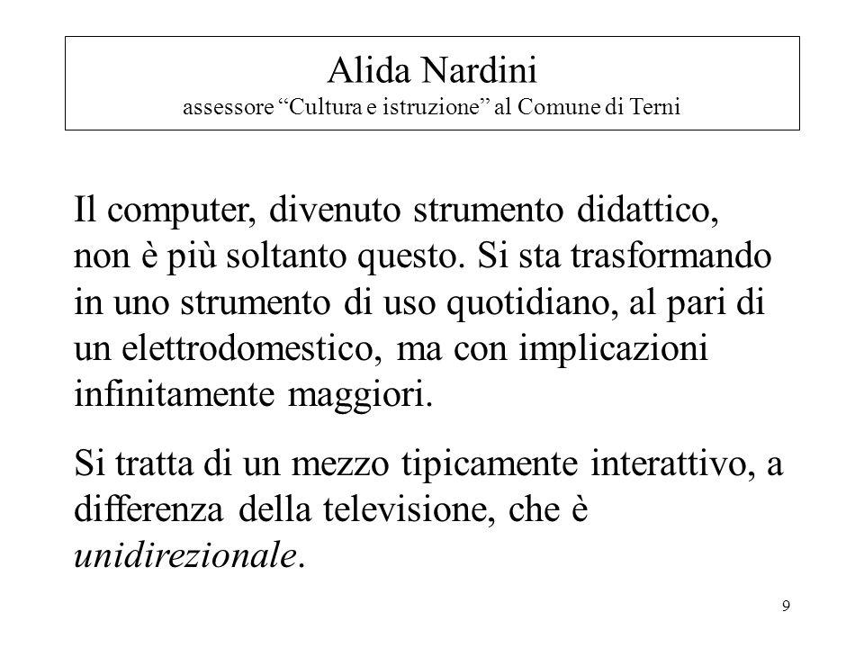 20 Prof.Roberto Maragliano doc. Tecnologie dellIstruzione.