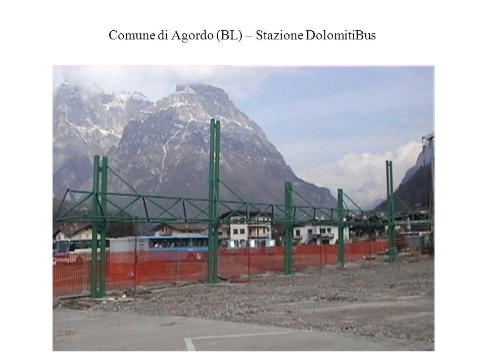 Comune di Agordo (BL) – Stazione DolomitiBus