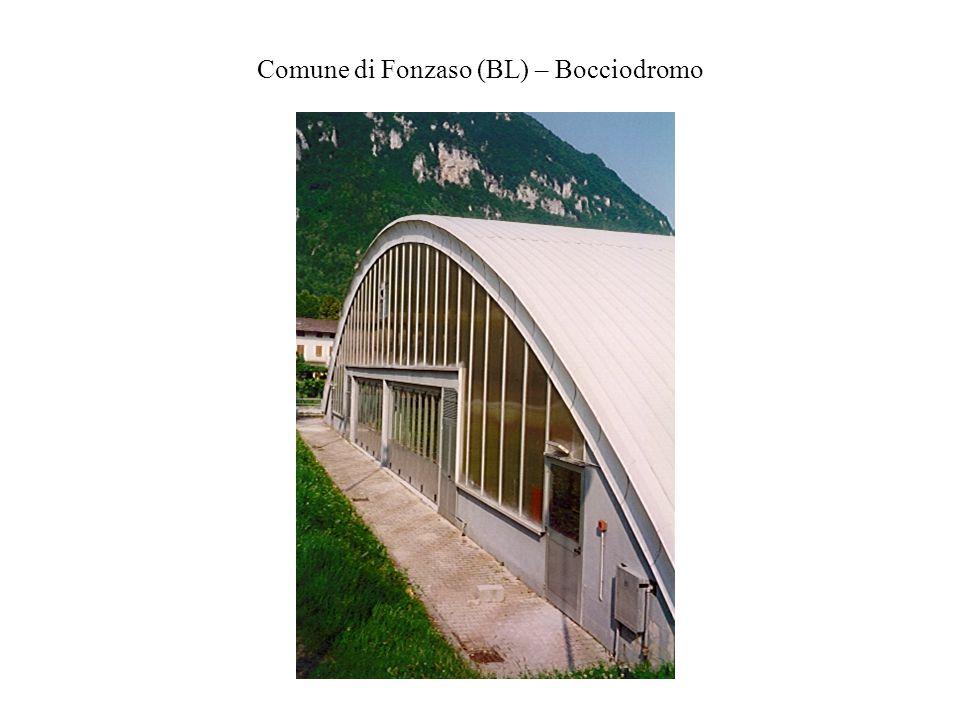Comune di Fonzaso (BL) – Bocciodromo