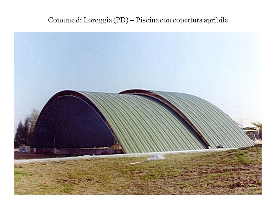 Comune di Loreggia (PD) – Piscina con copertura apribile
