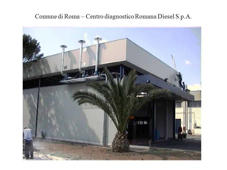 Comune di Roma – Centro diagnostico Romana Diesel S.p.A.