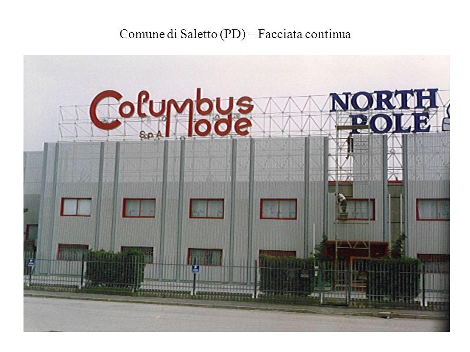 Comune di Saletto (PD) – Facciata continua