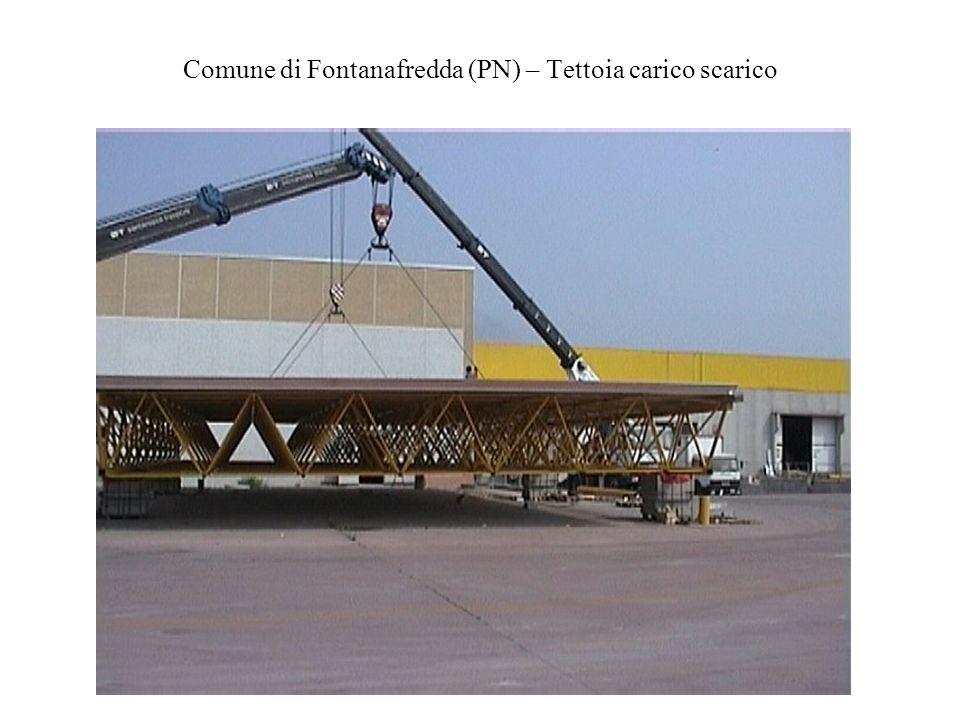 Comune di Fontanafredda (PN) – Tettoia carico scarico