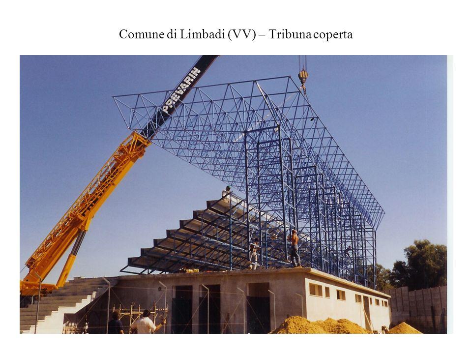 Comune di Limbadi (VV) – Tribuna coperta