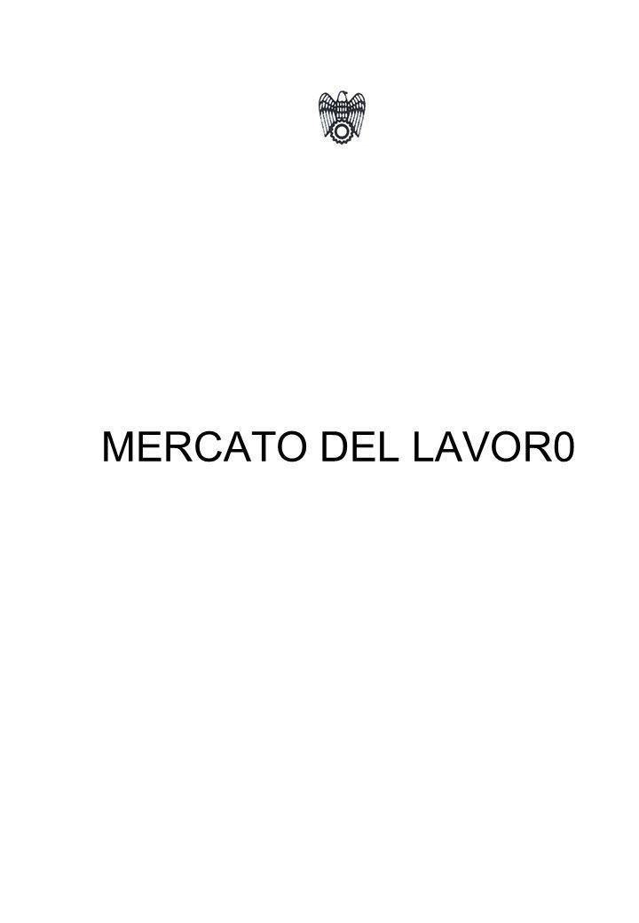 MERCATO DEL LAVOR0