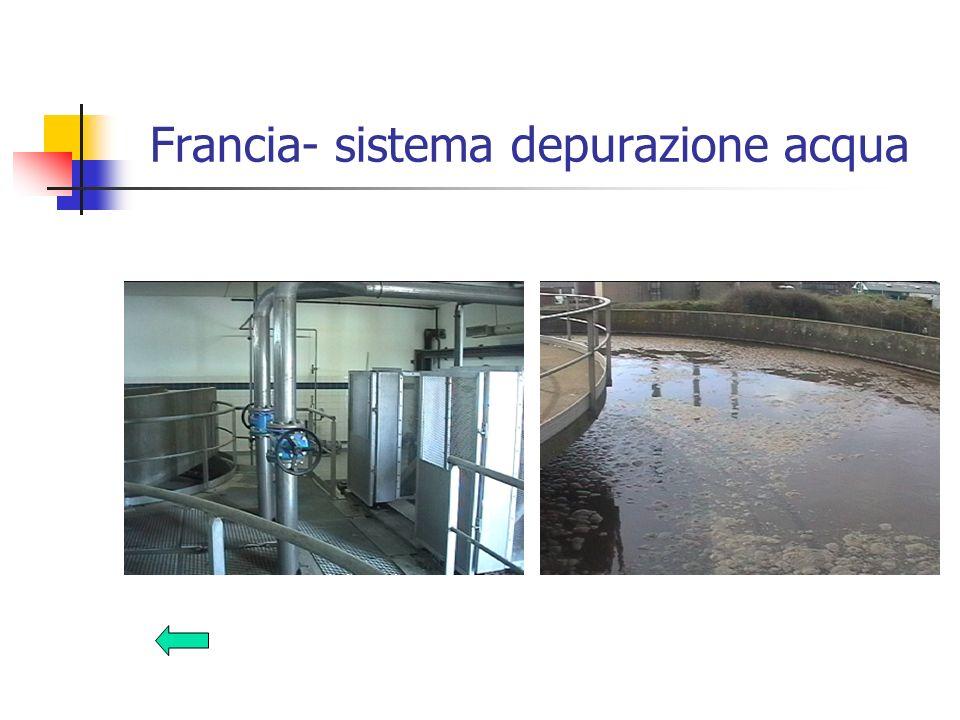 Francia- sistema depurazione acqua
