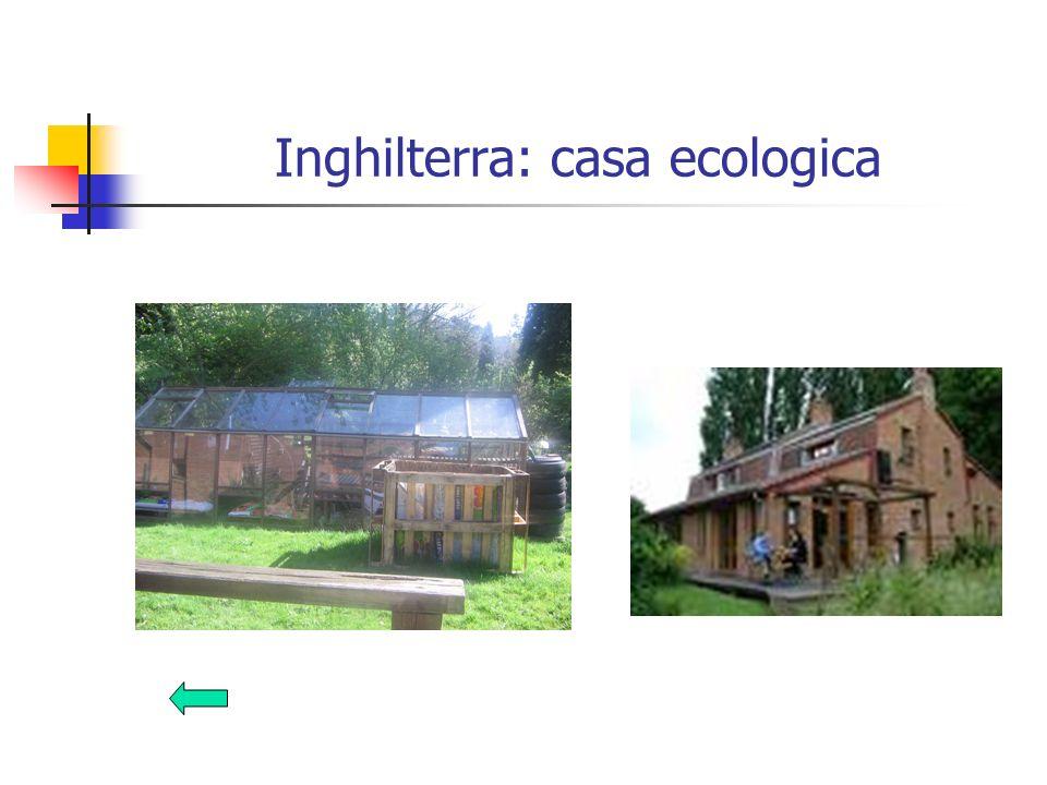 Inghilterra: casa ecologica