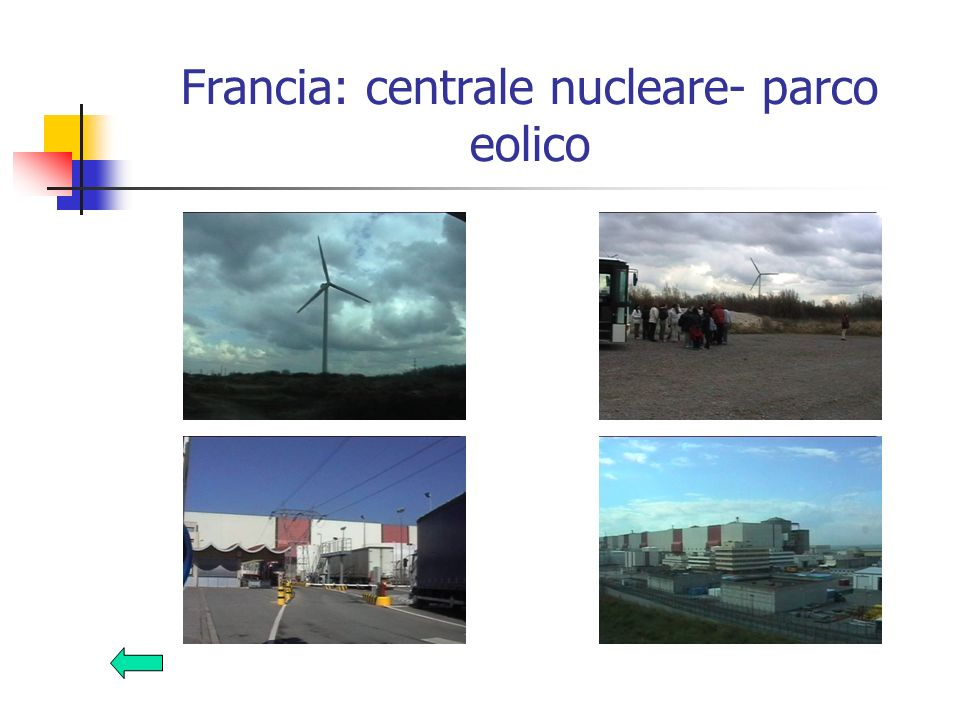 Francia: centrale nucleare- parco eolico
