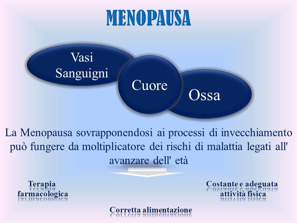 Vasi Sanguigni Ossa Cuore La Menopausa sovrapponendosi ai processi di invecchiamento può fungere da moltiplicatore dei rischi di malattia legati all'