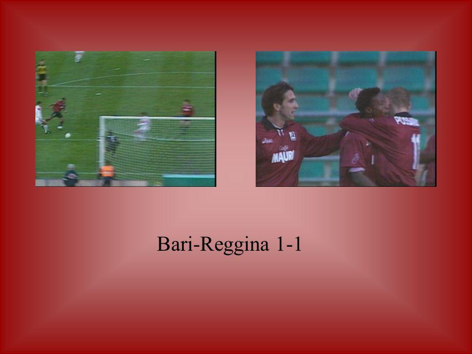 Bari-Reggina 1-1
