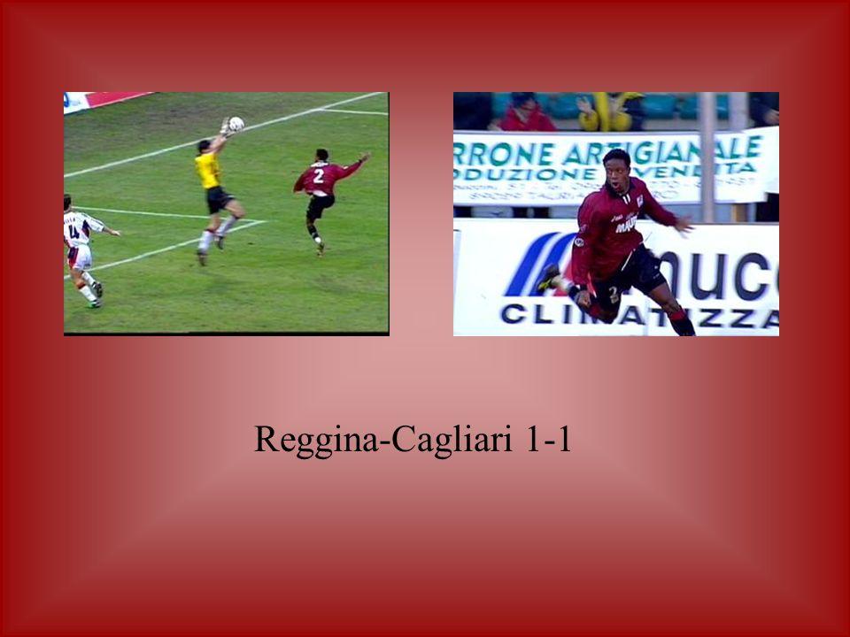 Reggina-Cagliari 1-1