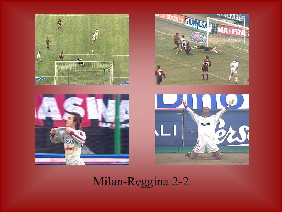 Milan-Reggina 2-2