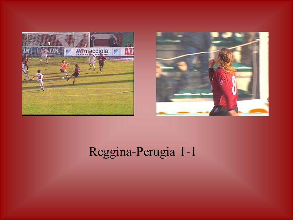 Reggina-Perugia 1-1