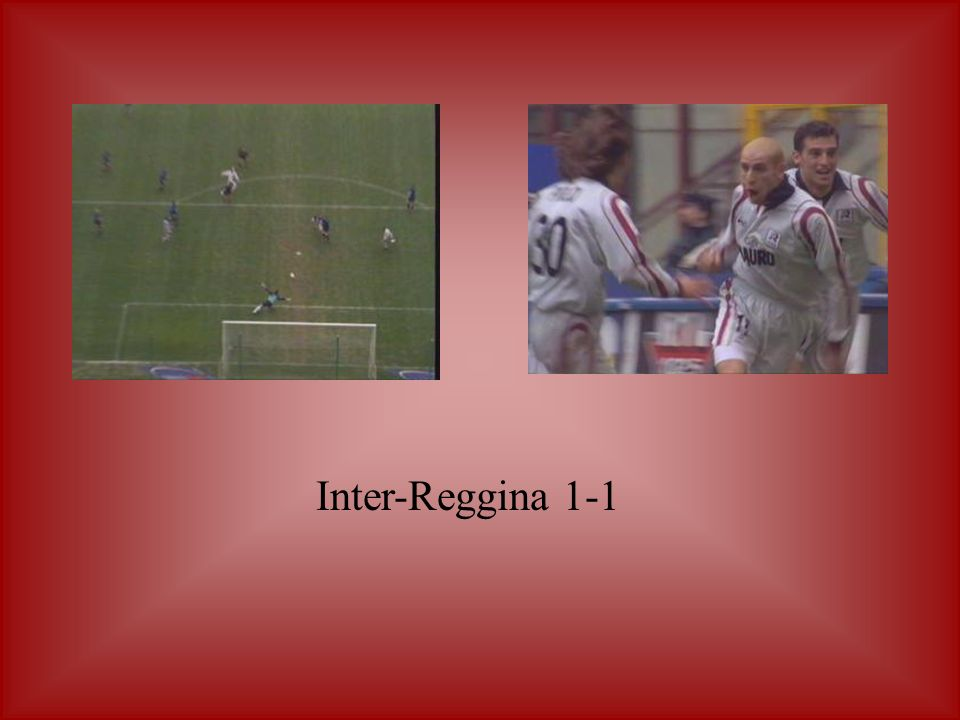 Inter-Reggina 1-1