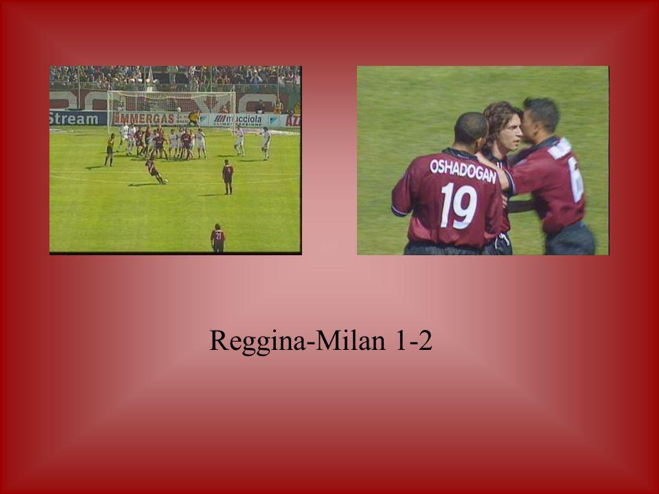 Reggina-Milan 1-2
